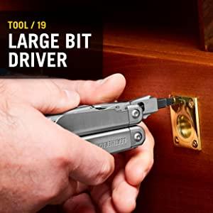 Bit Driver, Leatherman Surge, Multitool, Multipurpose Tool