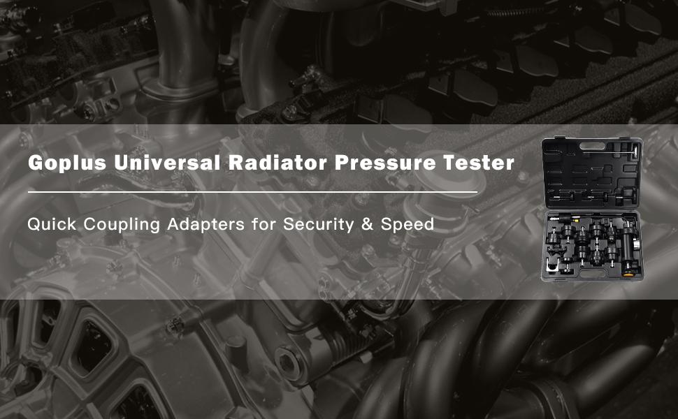 universal radiator testers