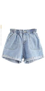 Hemming Jean Shorts