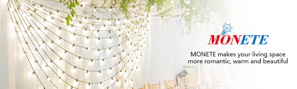 MONETE makes your living space more romantic, warm and beautiful