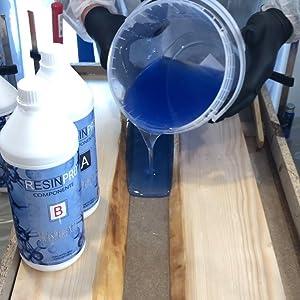 resina epossidica per tavoli legno gioielli diy resin pro