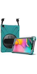 "Galaxy Tab A 10.1"" 2019  Rugged Case with Shoulder Strap"