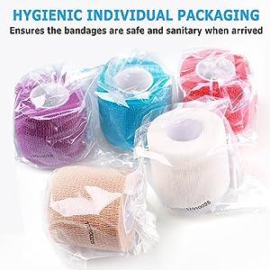 self adhering bandage wrap