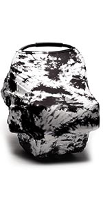 tie dye baby car seat cover