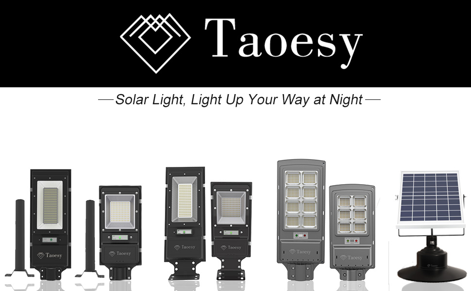 Taoesy Solar Lights