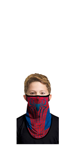 AJFIEF Adult Christmas Print Fashion Face Bandanas for Outdoor Activities Washable Polyester Skin-Friendly Face Protection Cover Men Women Anti-Dust Face Mouth Scarf Breathable Face M/ásk
