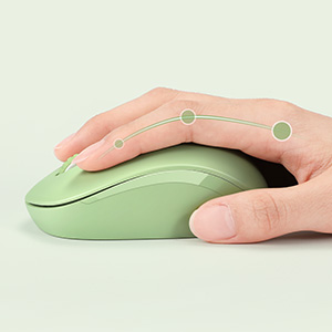 Wireless Mouse Olive Green