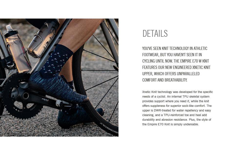empire e70 knit men details footware