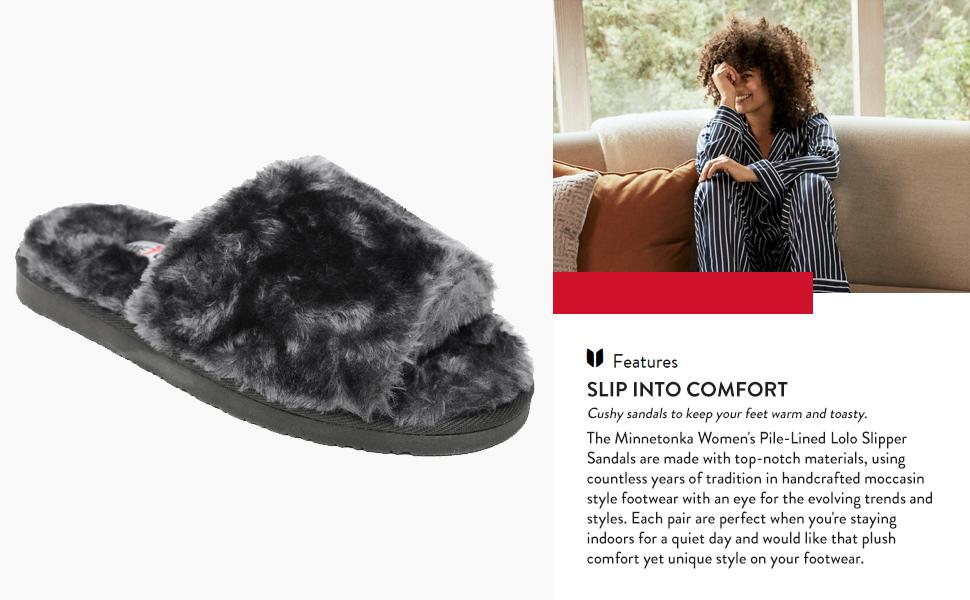 Minnetonka Women's Lolo Slipper Sandal