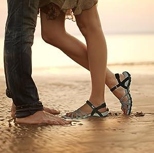 Comfortable walking hiking sport water outdoor river athletic cute sandles womans ladies sandalias
