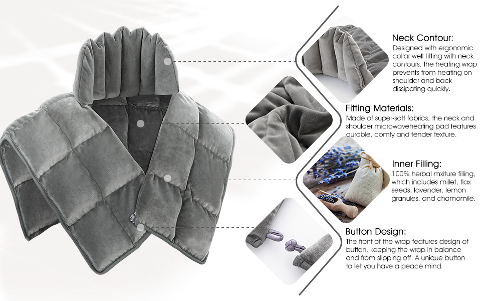 Effective Pain Relief Heated Wrap