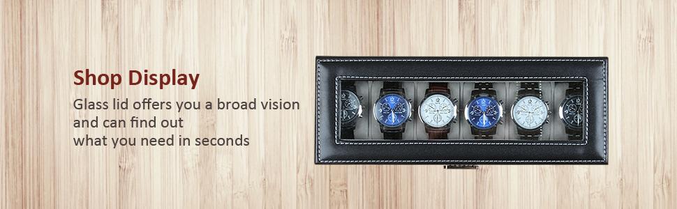 NEX watch case organizer