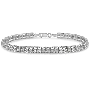 link chain s curve bangle cuff bolo layer stack stacking stackable tennis adjustable 7 8 9 inch