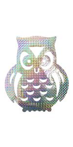 owl window deterrent