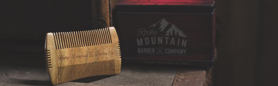 Beard Comb - Sandalwood - Antistatic