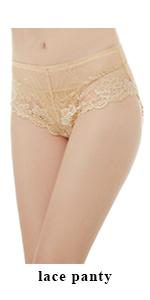 Deyllo Women's Lace Underwear Hipster Comfort Breathable Sexy Ladies Panties Briefs 3 Pack …