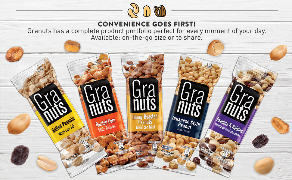 Chili, Lime, Crunchy, Honey Roasted, Caramelized, Salted, Toasted, Nuts, Corn, Peanuts, On-the-Go