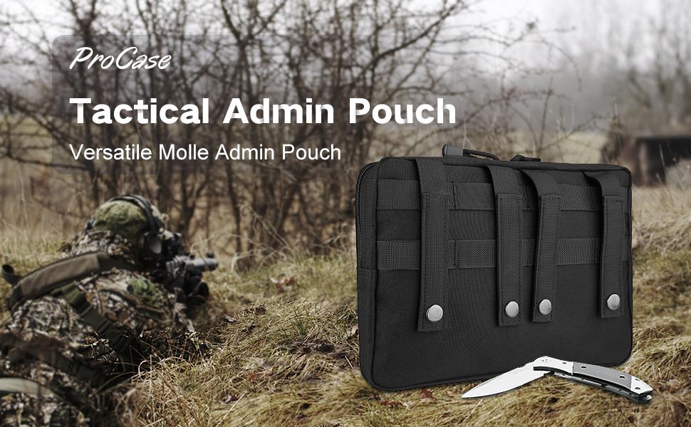 Tatical admin pouch