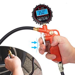 Digital Tire Inflator with Pressure Gauge