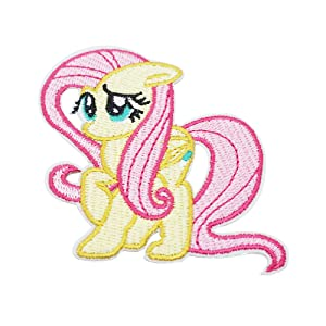 """Pinkie Pie Embroidered Iron//Sew ON Patch Cloth Patch Appliqué 4.5""""x3.25/"""""""
