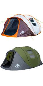big pop up tent