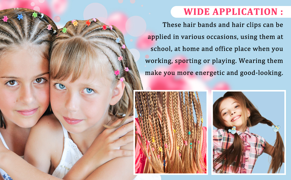 567pcs Hair Bands Clip Set