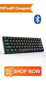 DK61 pro mechanical gaming keyboard