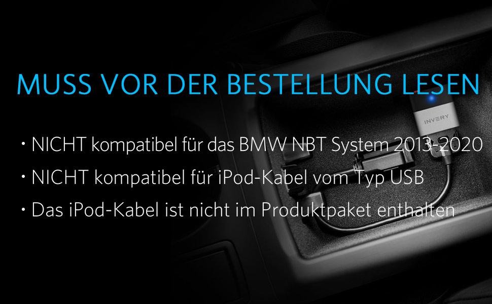 Airdual Bluetooth Adapter For Bmw Mini Cooper Ipod Elektronik