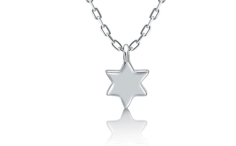 Miniature Star Of David Tiny Star Of David Bracelet Bat Mitzvah Delicate Star Of David Magen David Jewish Star Small Star Of David