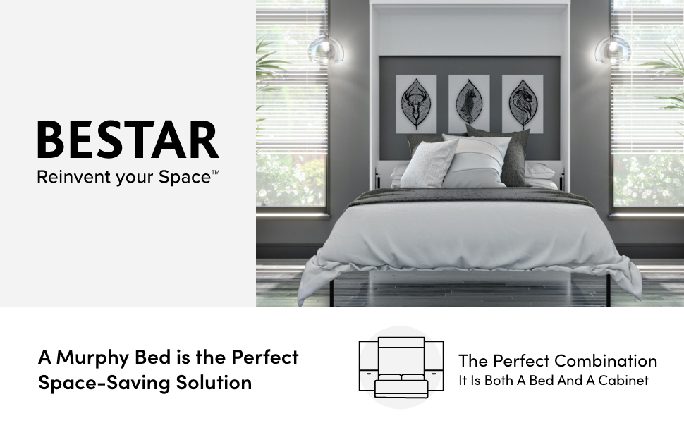 "Bestar's Logo and motto: ""Reinvent your space"""