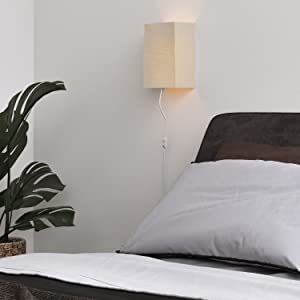 plant bed pillow lamp nightside lamp bedside lam asian lamp natural light