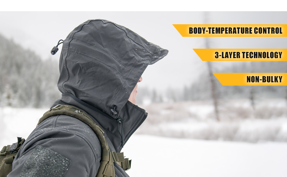 condor, layer, body temperature control, comfort, multi-functional, breathable, not bulky, wicking