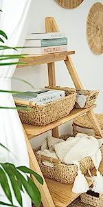 Shallow Wicker Basket