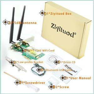 pci wifi card pc
