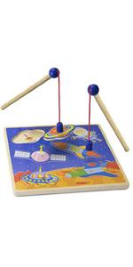 Amazon.com: Imagination Generation Tienda con diseño de cohete Para una  aventura en el espacio, con bolsa de almacenamiento: Toys & Games