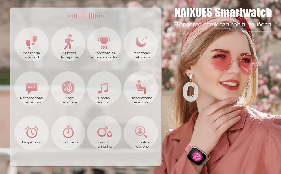smartwatch mujer