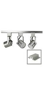 50154L-330KIT 3-Light Kit Brushed Steel 3K Warm White