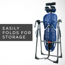 Easily folds for storage