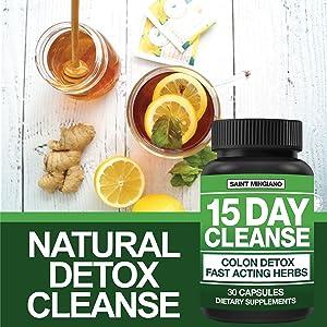 natural detox colon cleanse diet