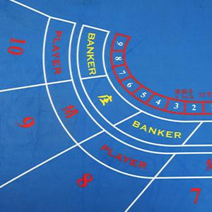 Baccarat Poker Table