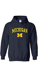 NCAA Arch Logo Adult Hooded Sweatshirt