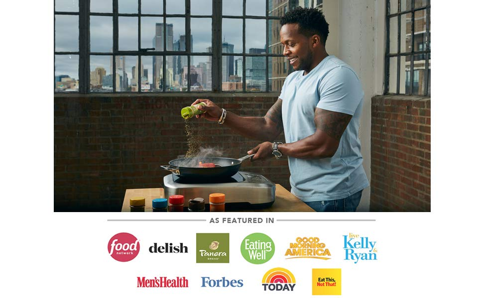 the fit cook Kevin Curry FitMenCook fit men cook meal prep spices and seasoning set