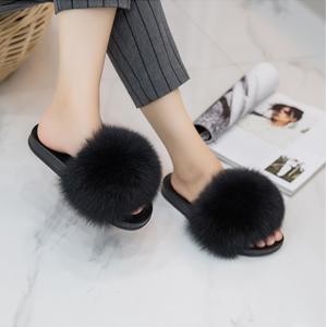 ONCAI Pantoufles Femme Peluche Pantoufles Femme Bout Ouvert Chaussons de Maison Antid/érapantes Mules Fourrure Sandale Ext/érieur et Int/érieur Plates Fluffy Velu Slippers