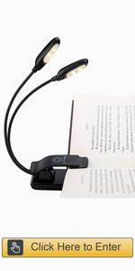 10 LED Book Light