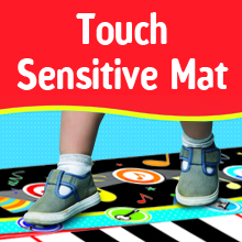 little performer piano playmat for kids and toddlers touch sensitive dance mat musical toys