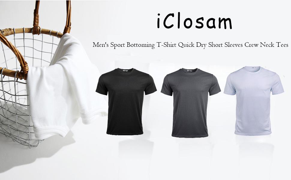 Men's 3Pack Sport Bottoming T-Shirt