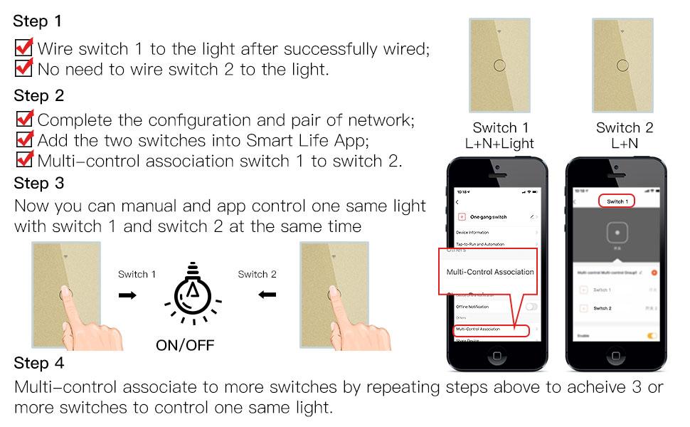 Single Wire Smart Switch