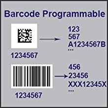 plenty of customization remove add digits or characters in the barcode data