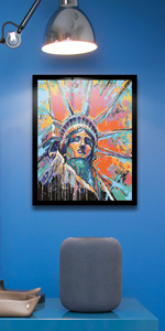 Statue of Liberty Paint by Numbers kit Canvas Painting for Adults