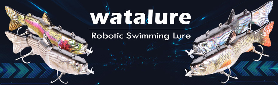 Robotic Swimming Lure For Bass Gift